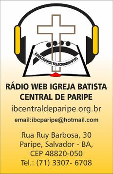 Rádio Web IBCP apk screenshot