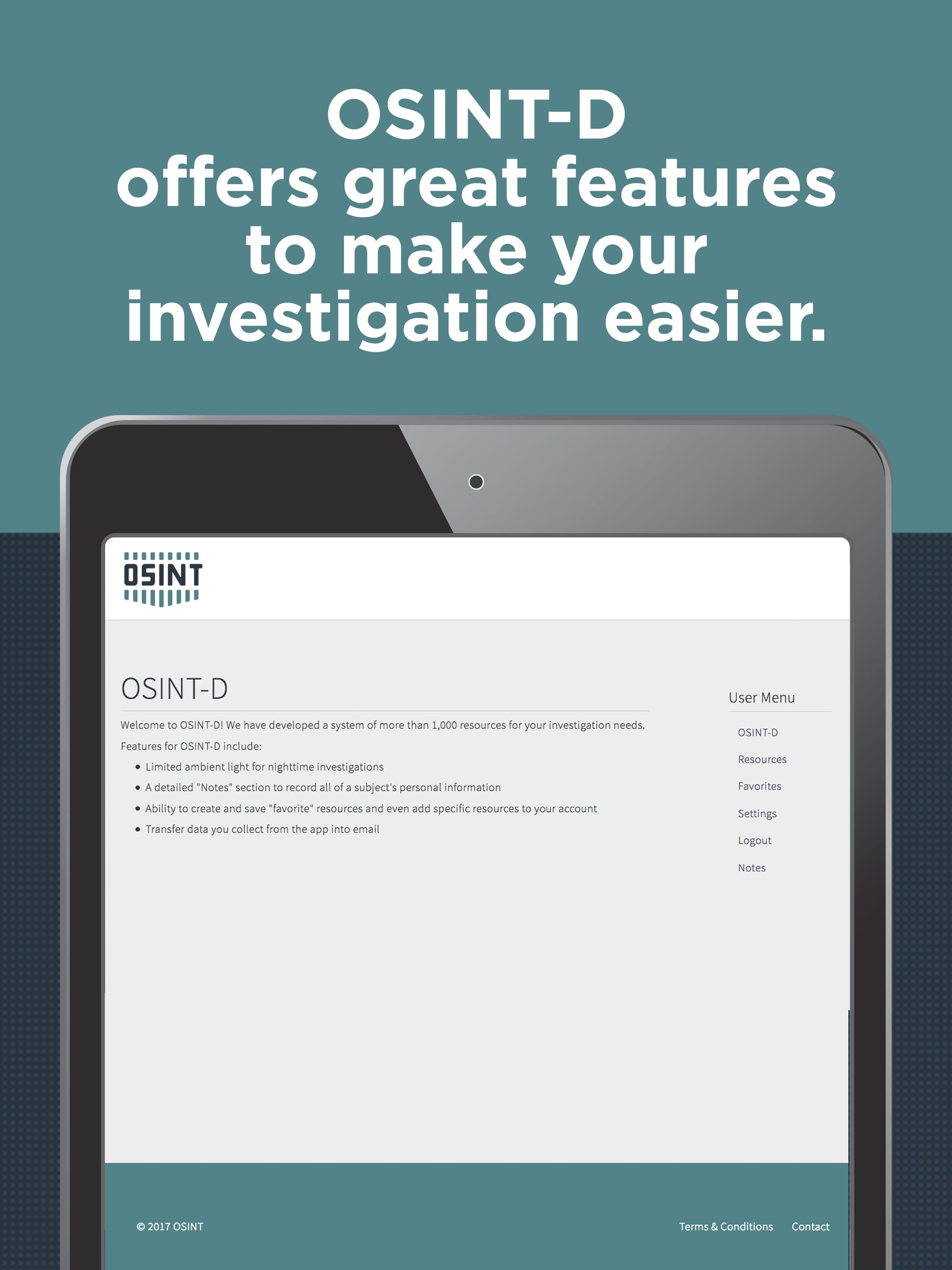 OSINT-D for Android - APK Download