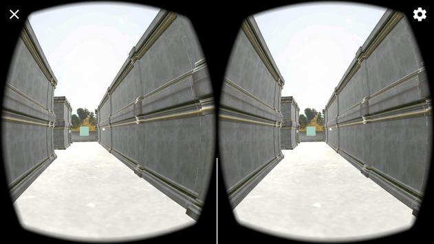 Virtual Maze for cardboard screenshot 1