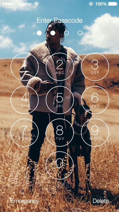 Travis Scott Lock Screen For Android Apk Download