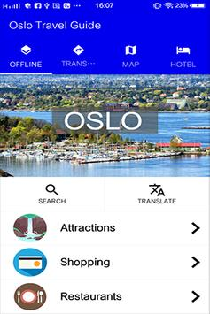 Oslo Travel Guide poster