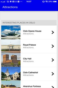 Oslo Travel Guide screenshot 1