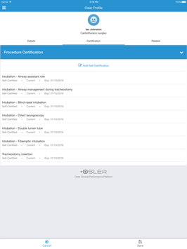 Osler - Clinical Performance screenshot 18