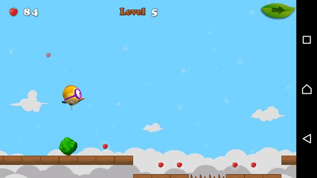 Super Bird  🐦 (Bouncy bird) apk screenshot