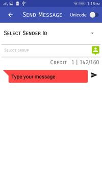 Orange SMS apk screenshot