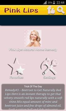 Pink Lips Natural Home Remedy New screenshot 1