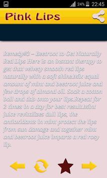 Pink Lips Natural Home Remedy New screenshot 5