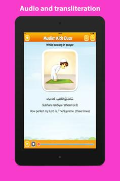 Daily duas for kids Muslim dua apk screenshot