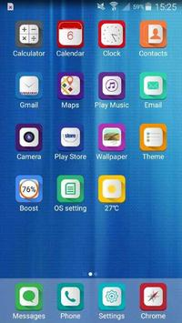os9 theme with business poster