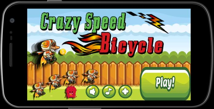 Crazy Speed Bicycle poster
