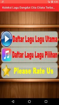 Koleksi Lagu Dangdut Cita Citata Terbaru screenshot 9