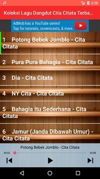 Koleksi Lagu Dangdut Cita Citata Terbaru screenshot 11