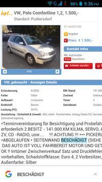 Gebrauchtwagen Österreich screenshot 14