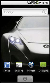 Car Showcase Live Wallpaper poster