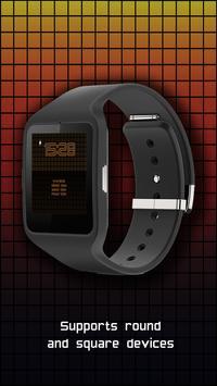 Watch Face: Color Pixel - Wear OS Smartwatch apk screenshot