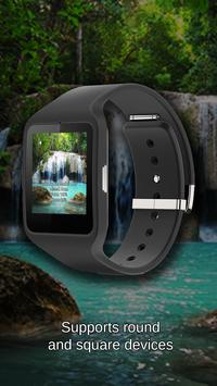 Watch Face Waterfall Wallpaper screenshot 2
