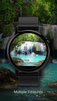 Watch Face Waterfall Wallpaper apk screenshot