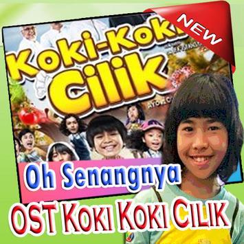 Lagu Baru Viral OST Koki Koki Cilik  Oh Senangnya poster