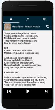 OST Roman Picisan Lirik Mp3 apk screenshot