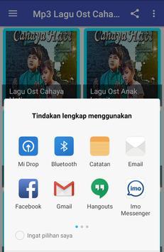 Mp3 Lagu Ost CAHAYA-HATI Terbaru screenshot 4