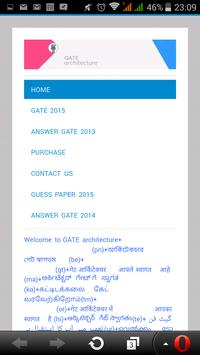 GATE ARCHITECTURE (old) apk screenshot