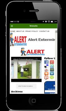Alert Exterminators apk screenshot