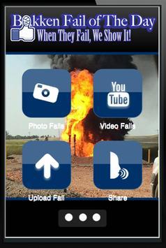 Bakken Oilfield Fail The Day poster