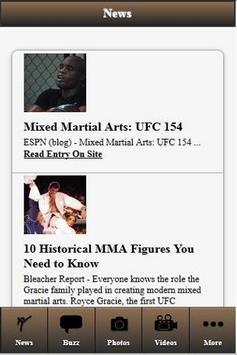 MMA News Addiction screenshot 1