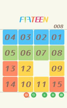 15 puzzle - FIFTEEN - apk screenshot