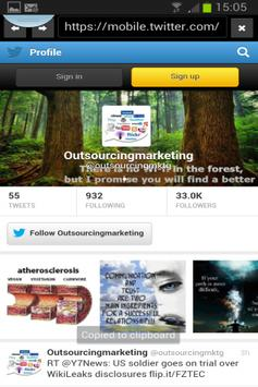 Outsourcing Marketing apk screenshot