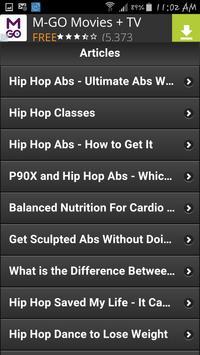 Hip Hop Work Out 2 apk screenshot