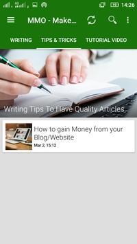 MMO - Make Money Online apk screenshot