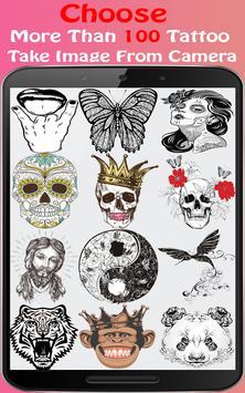 Tattoo Me Camera-Tattoo Ideas screenshot 1