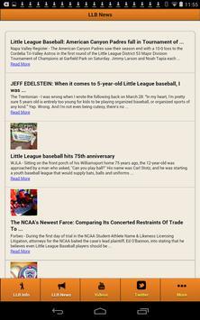 Little League Baseball screenshot 7