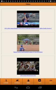 Little League Baseball screenshot 8