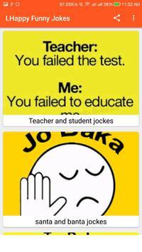 Happy Funny Jokes - Hindi Chutkule screenshot 1