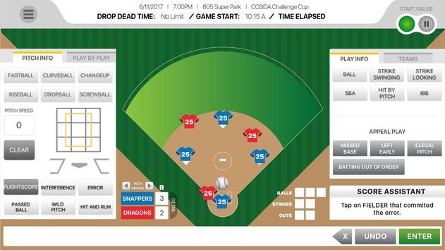805Stats Baseball/Softball screenshot 1