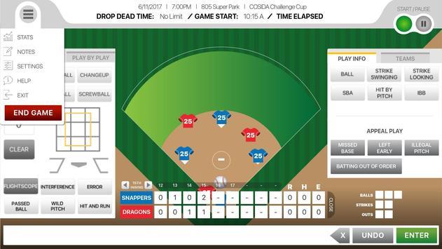 805Stats Baseball/Softball screenshot 2