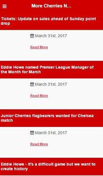 Bournemouth Football News screenshot 2