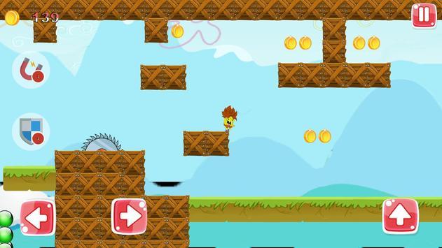 Dash spongeBOB Game For Free apk screenshot