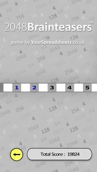 2048 Brainteasers screenshot 1