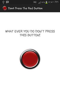 Don't Press The Red Button poster