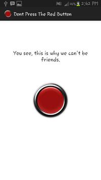 Don't Press The Red Button screenshot 1