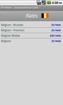 011Now - International calls screenshot 3