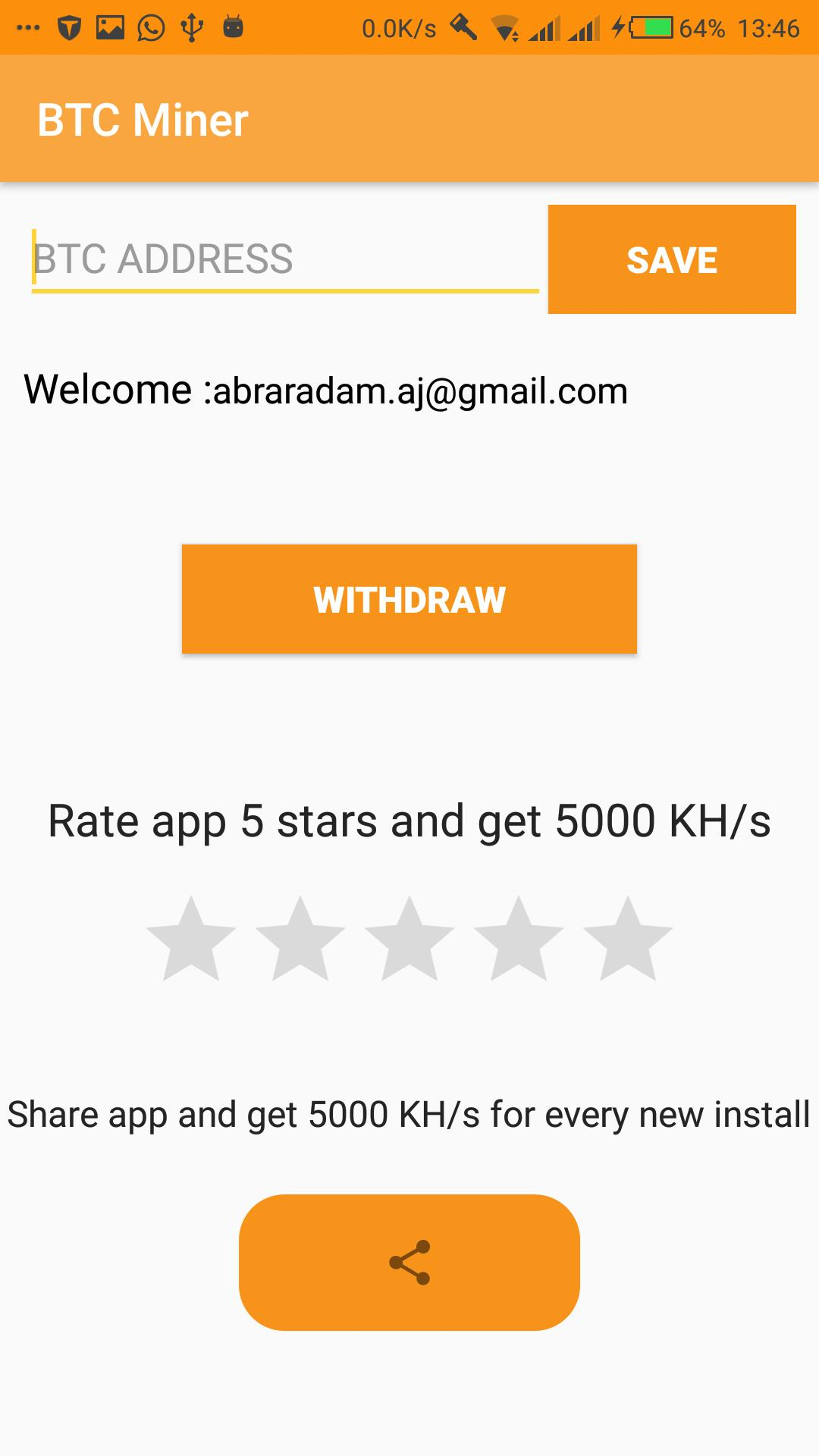 Bitcoin Miner (Get Free Bitcoins) for Android - APK Download
