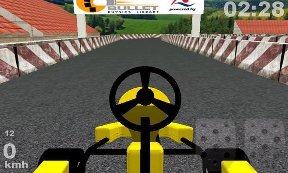 Kart Racing 3D poster