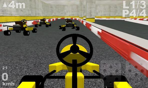 Kart Racing 3D screenshot 1