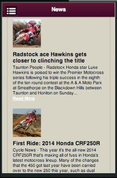 Honda Motocross Owners screenshot 1