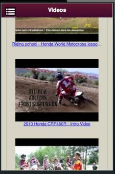 Honda Motocross Owners screenshot 3