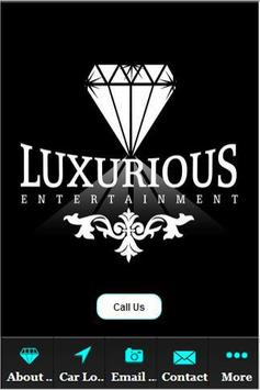 Luxurious Entertainment poster